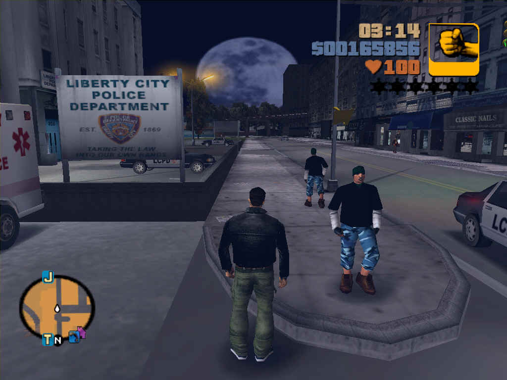 GTA 3 Compressed PC Game Free Download 198MB