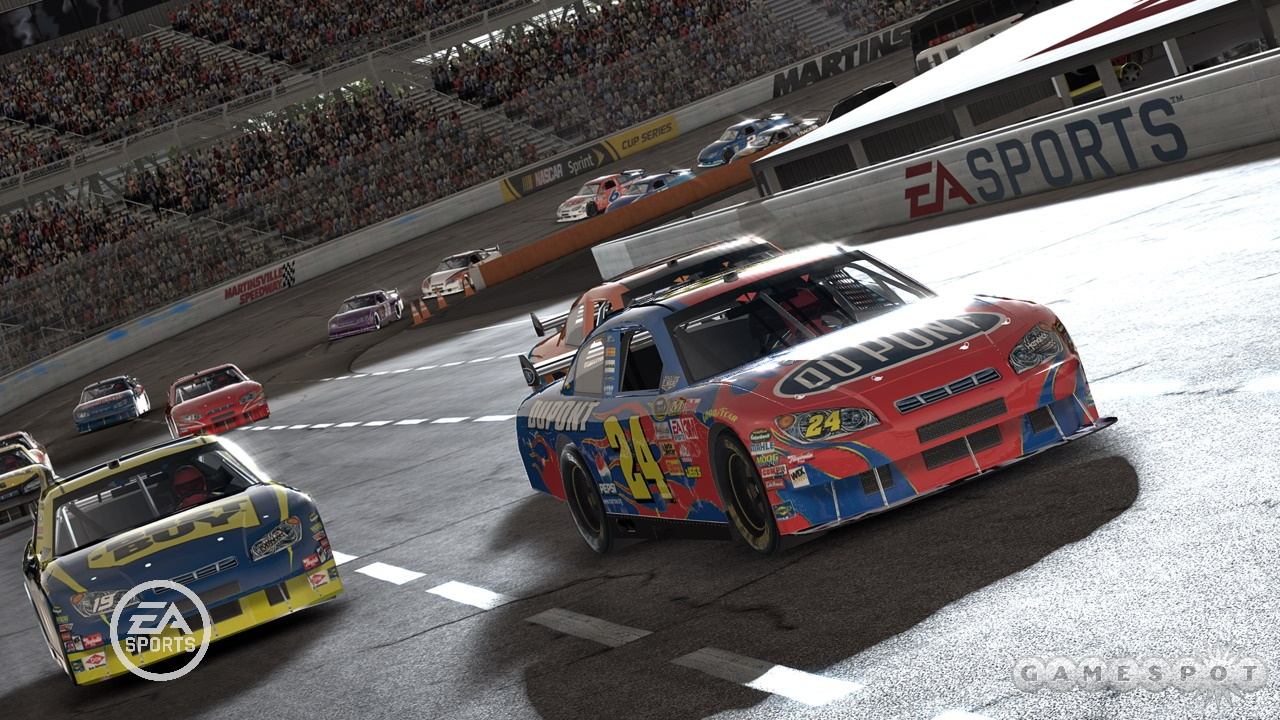 Nascar PC Game Free Download 7GB