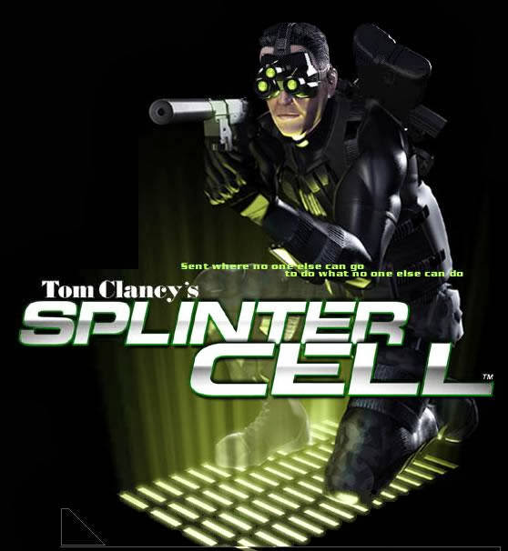Splinter Cell 1 Ripped PC Game Free Download 284 MB